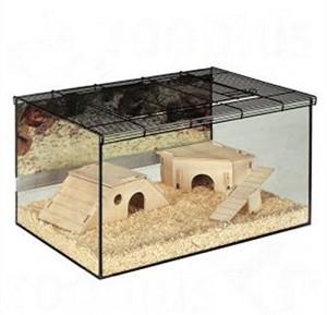 Hamsterkäfig Glas 3