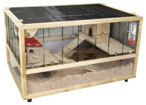 hamsterkäfig holz 4